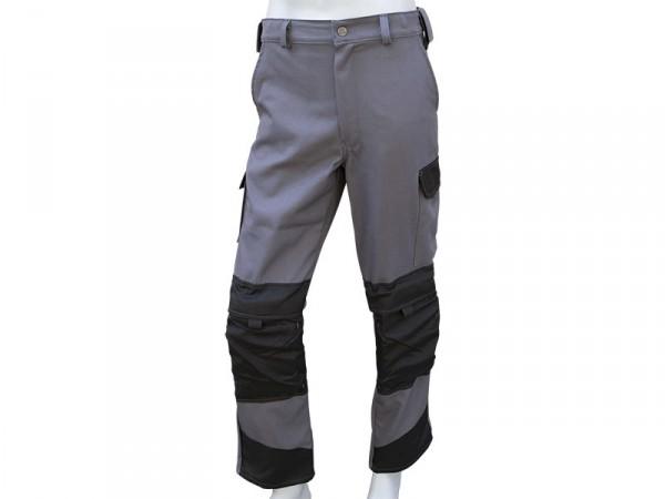 Pantalon Etancheur Gris avec genouillères