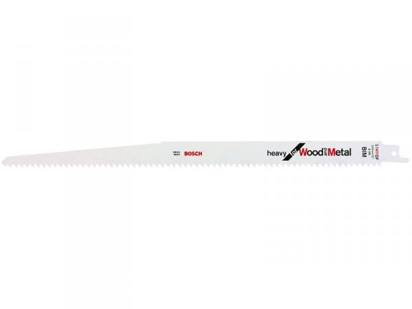 Carte de 5 lames S 1411 DF - 300 mm pour scies sabres