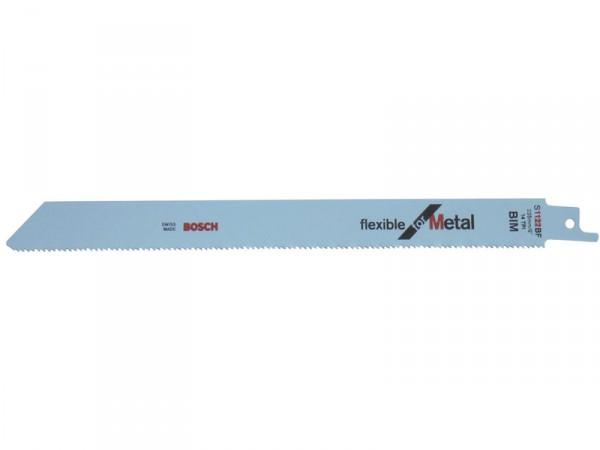 Carte de 5 lames S 1122 BF - 225 mm pour scies sabres