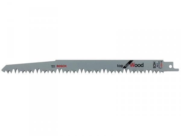 Carte de 5 lames S 1531 L - 240 mm pour scies sabres
