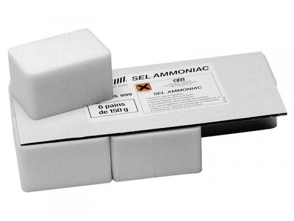 Sel ammoniac en pain