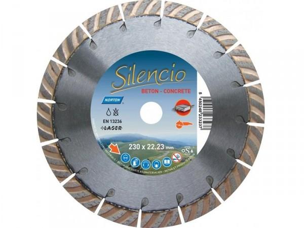 Disque Diamant Silencio Ø230x22.23