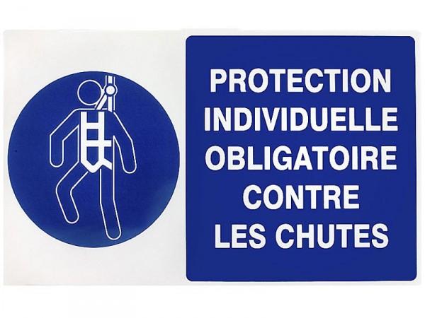 Panneau de signalisation Protection individuelle obligatoire