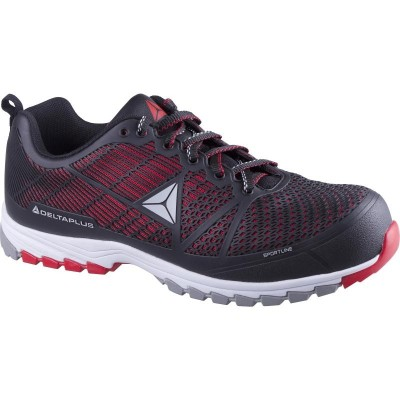 design intemporel 2a7ac 574df Chaussure Delta Sport noir/rouge