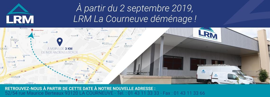 Déménagement LRM La Courneuve